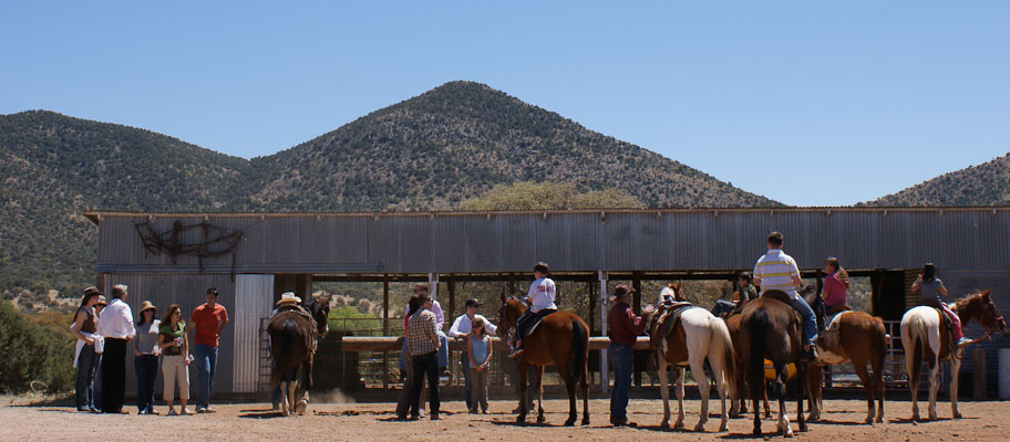 Arizona guest ranch resort