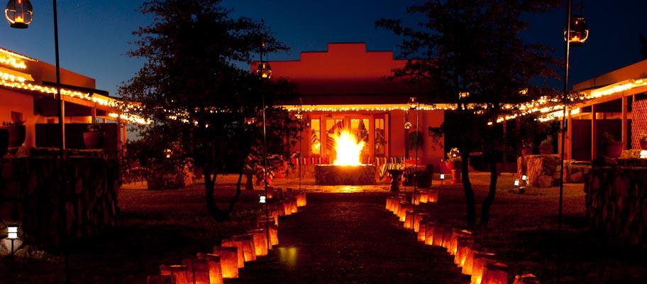 Backyard Bonfire Wedding : 301 Moved Permanently